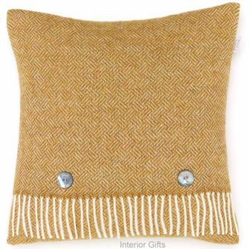 BRONTE by Moon Cushion - Parquet Gold Merino Lambswool