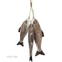 Archipelago Sea Bass Bunch Fish Wood Carvings
