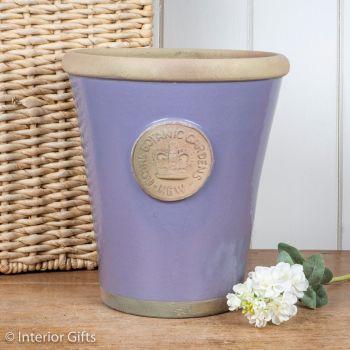 Kew Long Tom Pot in Brassica Lavender - Royal Botanic Gardens Plant Pot - Large