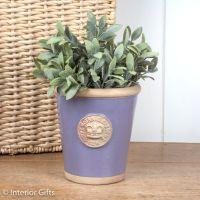 Kew Long Tom Pot in Brassica Lavender - Royal Botanic Gardens Plant Pot - Small