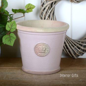 Kew Orangery Pot Powder Pink - Royal Botanic Gardens Plant Pot - 19 cm H