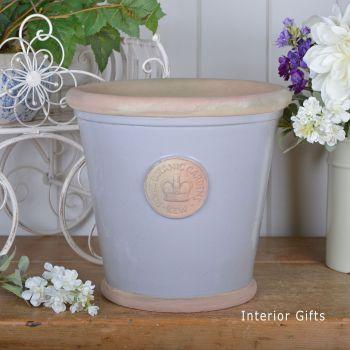 Kew Orangery Pot Light Dove Grey - Royal Botanic Gardens Plant Pot - 27 cm H