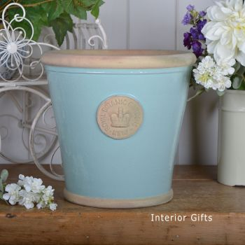 Kew Orangery Pot Tiffany Blue - Royal Botanic Gardens Plant Pot - 27 cm H