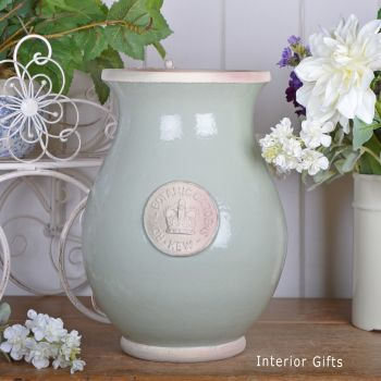 Kew Royal Botanic Gardens Shaped Vase Chartwell Green - Large 33cm H