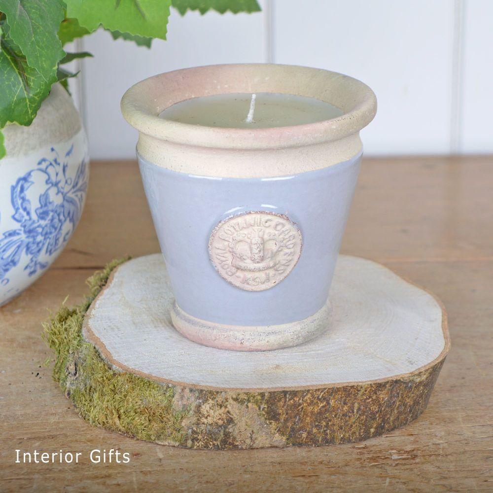 KEW Royal Botanic Gardens Candle in Light Grey - Small