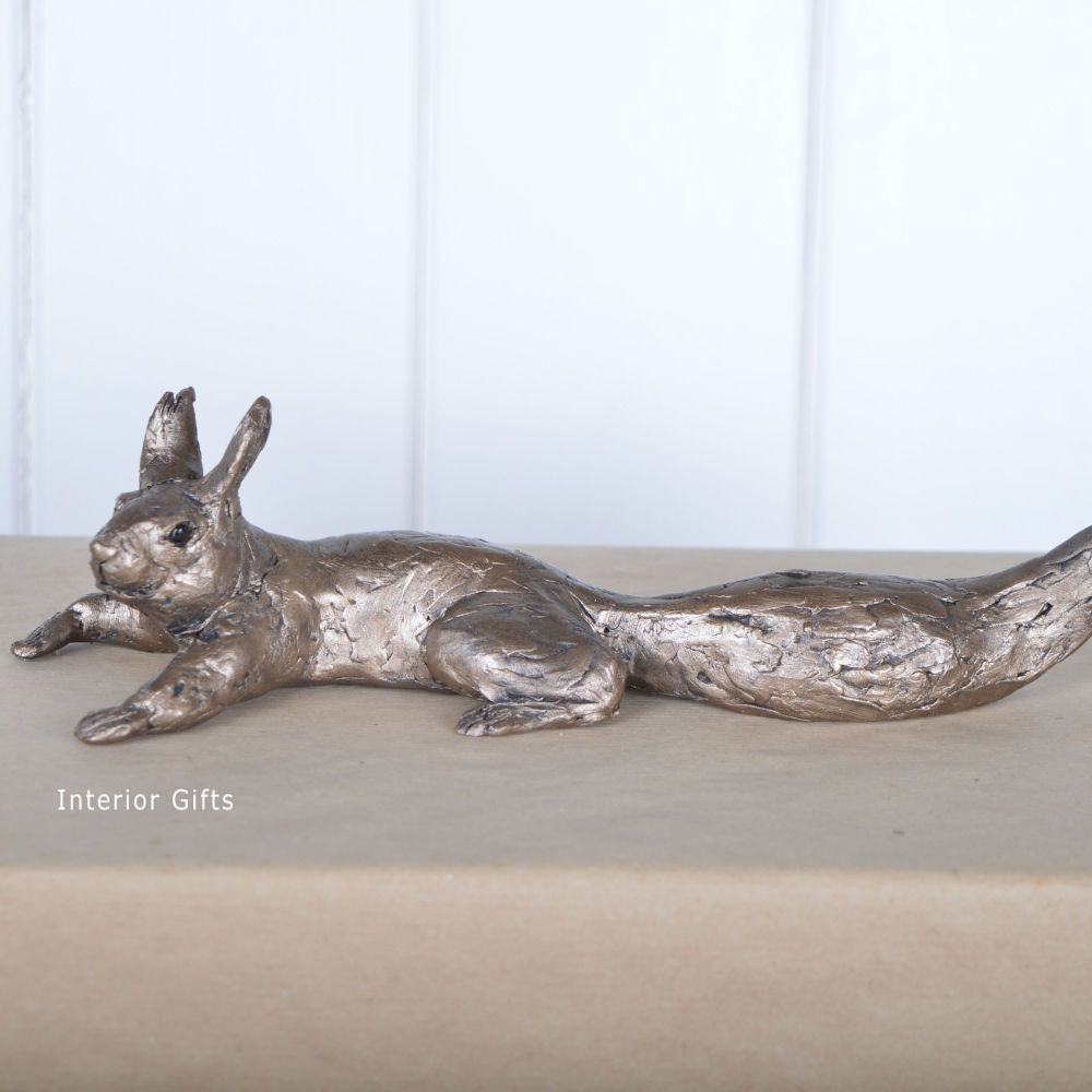 Squirrel - Tree and Shelf Use - Frith Bronze Sculpture by Thomas Meadows