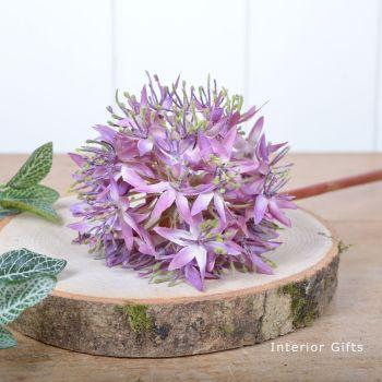 Allium Flower Lavender Pink - 56 cm approx