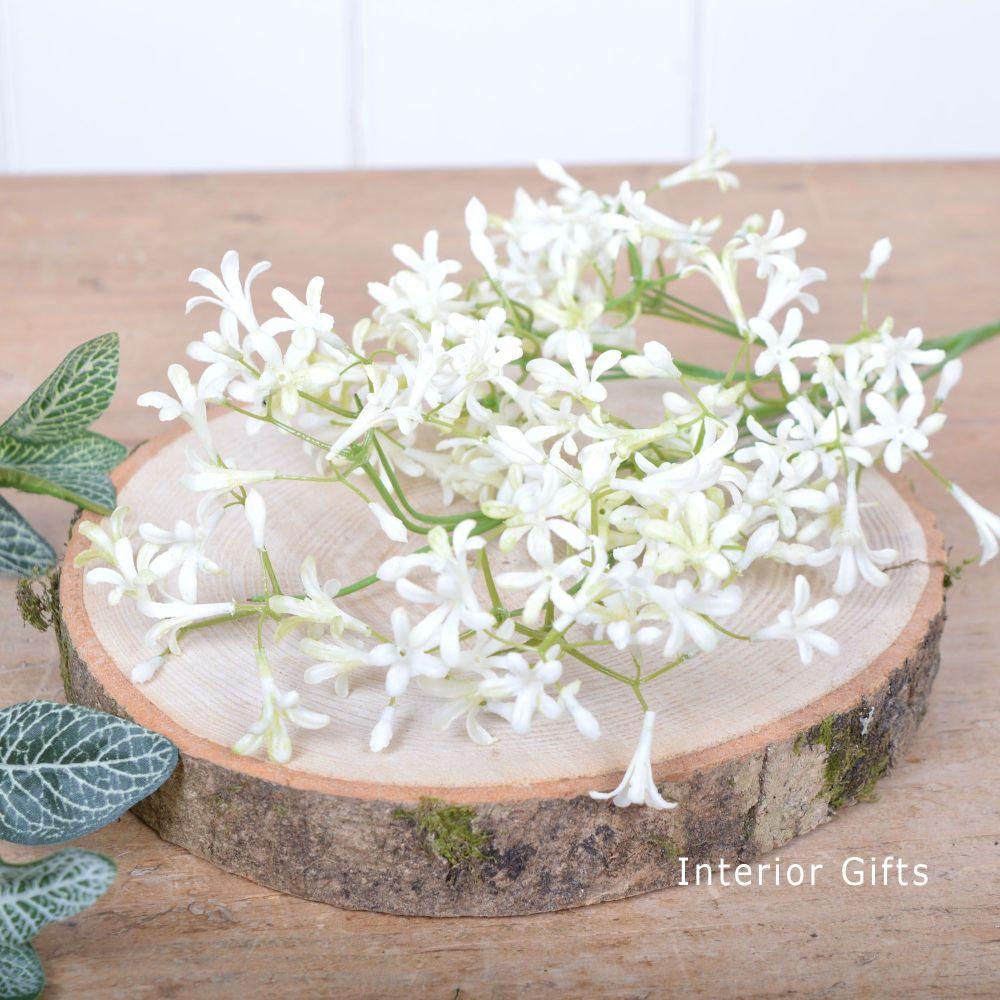 Wildflower Stem White Flowers Spray 76 cm
