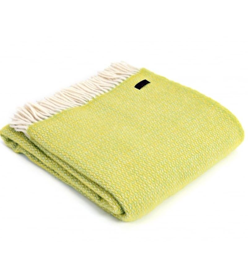 Tweedmill Zest Ascot Pure New Wool Throw Blanket