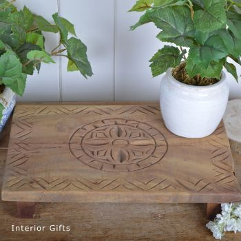 Decorative Wooden Reclaimed Table Stand / Table Centrepiece