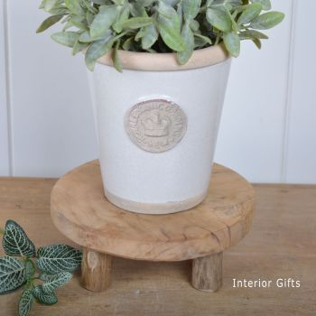 Decorative Wooden Reclaimed Pot Stand