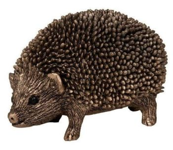 Frith Zak Small Hedgehog Bronze Sculpture by Thomas Meadows