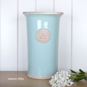 Kew Royal Botanic Gardens Florist Flower Vase in Tiffany Blue - Large 37cm H