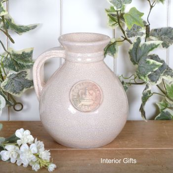 Kew Royal Botanic Gardens Flower Jug in Oyster - Small