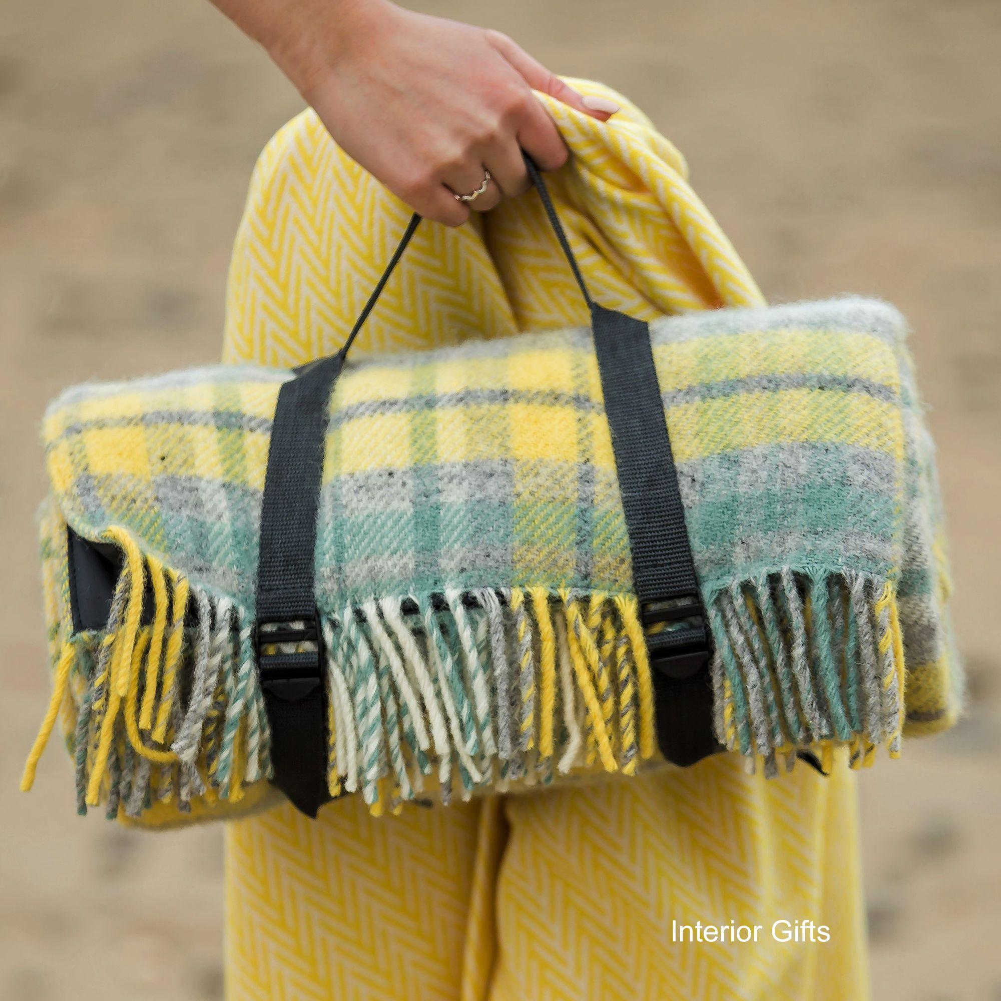 Wool Picnic Rugs Waterproof