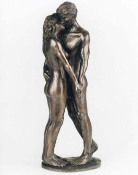 The Kiss - by Frith Sculpture