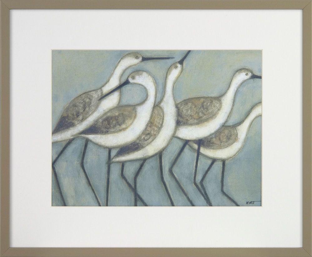 Shore Wader Birds I