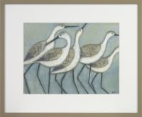 Shore Wader Birds I - 43 x 36 cm