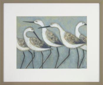 Shore Wader Birds II - 43 x 36 cm