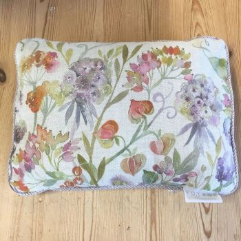 Voyage Autumn Flowers Country Mini Arthouse Cushion Small - 25 x 35 cm
