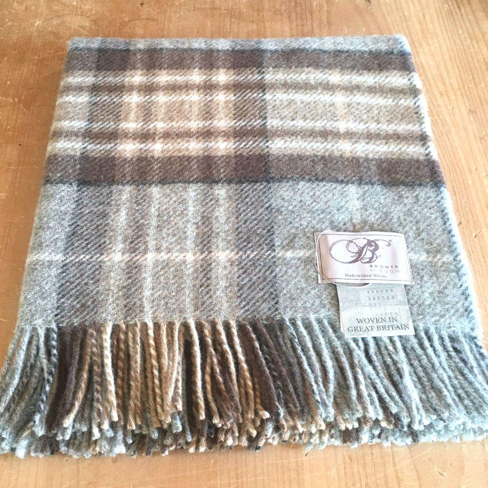 Bronte by Moon Knee Rug or Small Blanket McKellar Pure New Wool