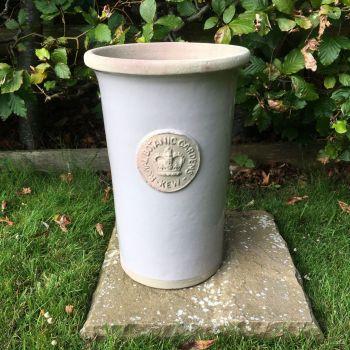 Kew Royal Botanic Gardens Florist Flower Vase in Almond - Medium 30.5 cm H