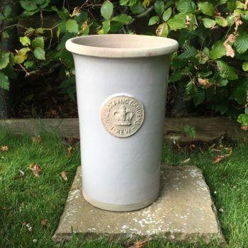 Kew Royal Botanic Gardens Florist Flower Vase in Almond - Small 25.5 cm H