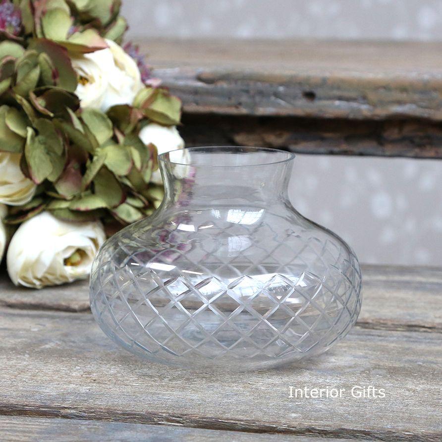 Vintage Style Glass Vase