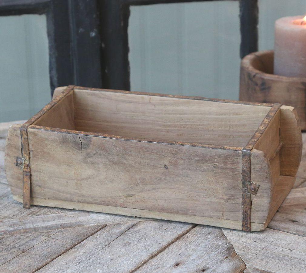 Vintage Wooden Brick Mould