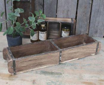 Vintage Wooden Double Length Brick Mould