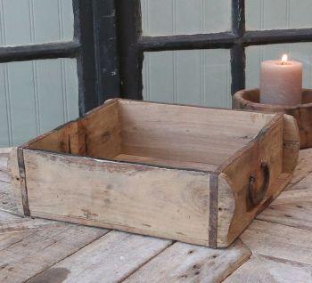 Vintage Wooden Double Width Brick Mould