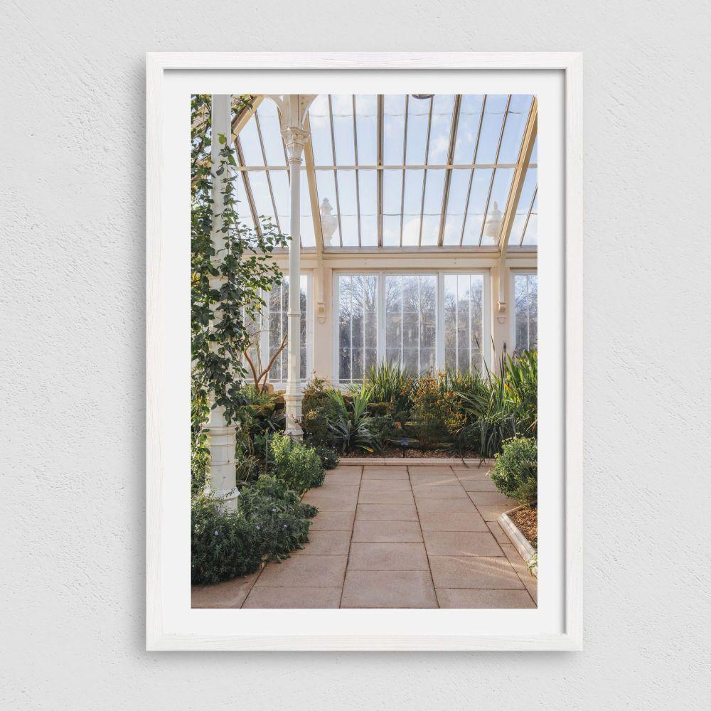Tropical Greenhouse Garden