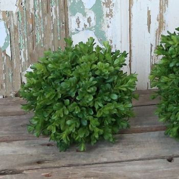Realistic Faux Boxwood Buxus Ball - 18 cm