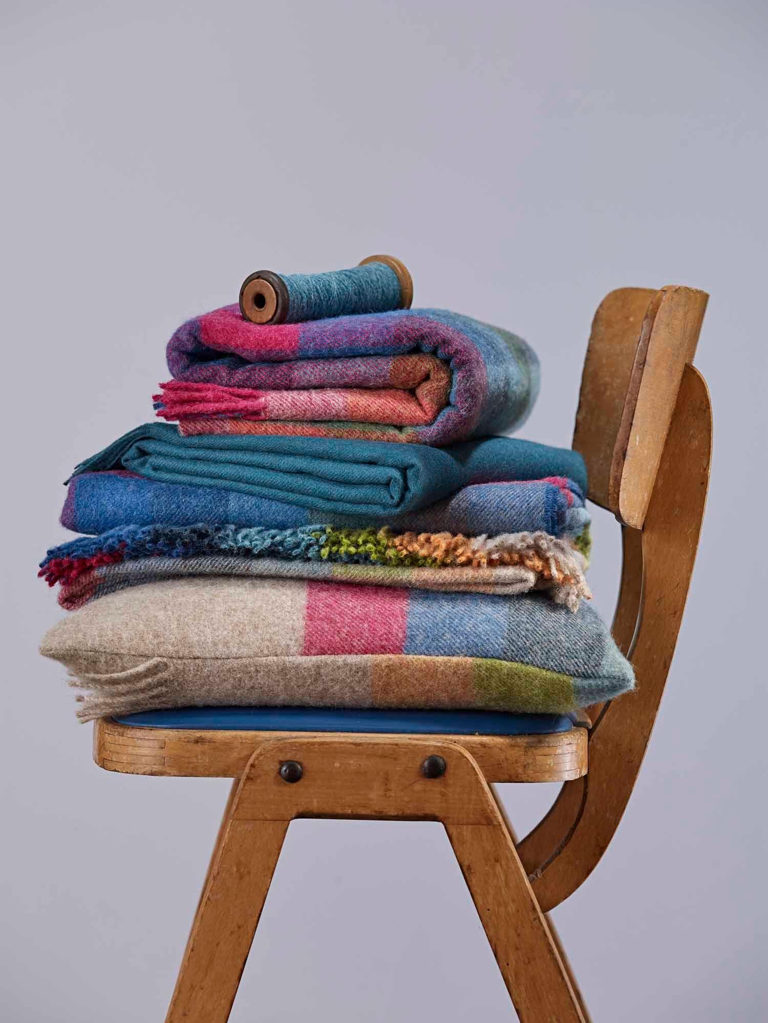 Quality Shetland Wool Throws