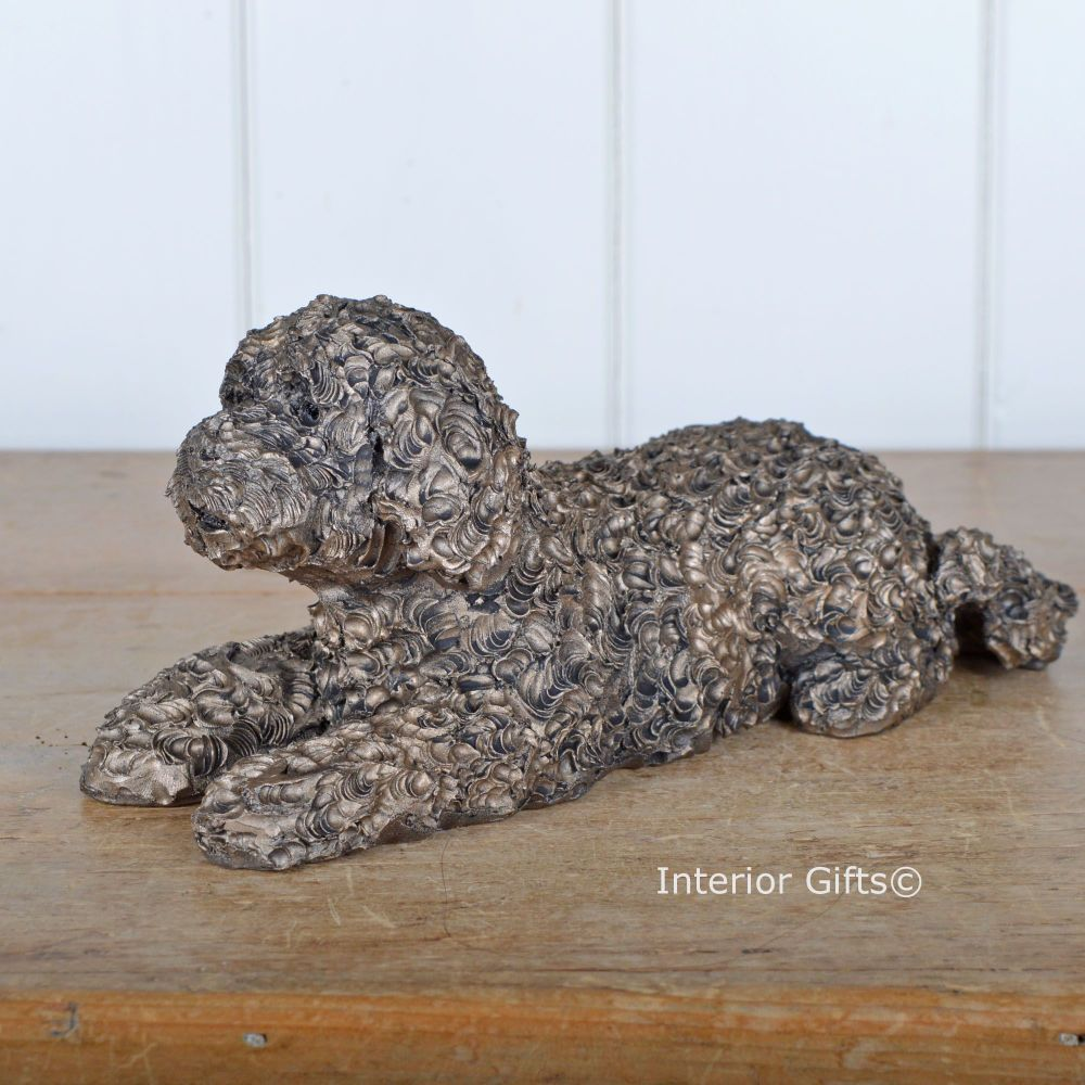 TEDDY LABRADOODLE Frith Bronze Sculpture by Adrian Tinsley *NEW*