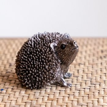 Frith Sweetpea Curious Hedgehog Standing Bronze Sculpture by Thomas Meadows