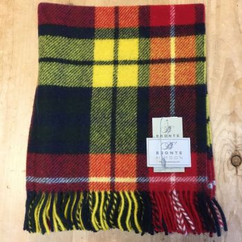 Bronte by Moon Knee Rug or Small Blanket Buchanan Pure New Wool