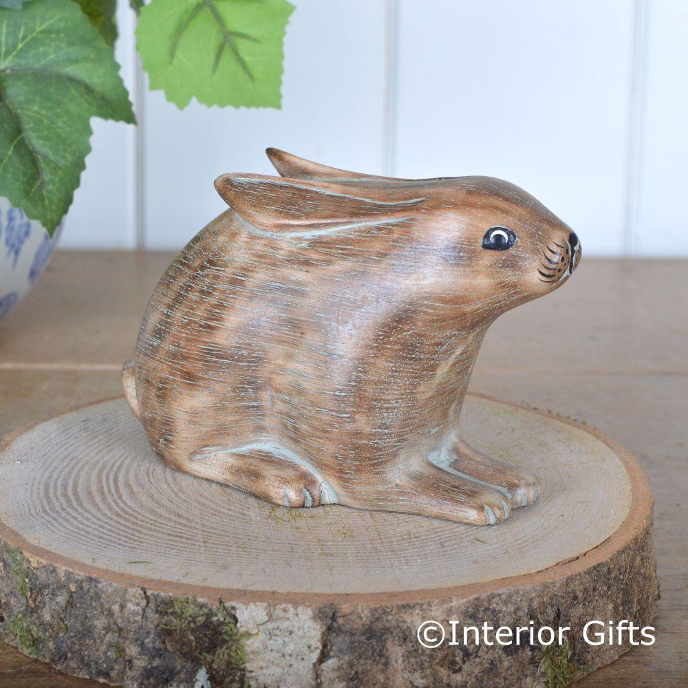 Archipelago Wooden Hare or Leveret- Animal Wood Carving