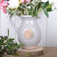 Kew Royal Botanic Gardens Jug in Almond