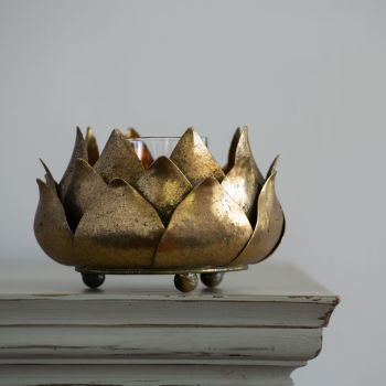 Vintage Artichoke Candle holder