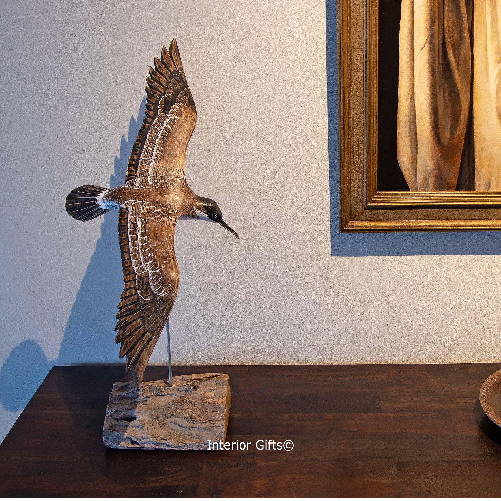 Archipelago Carved Wooden Bird