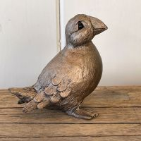 Puffin Frith Bronze Sculpture by Thomas Meadows