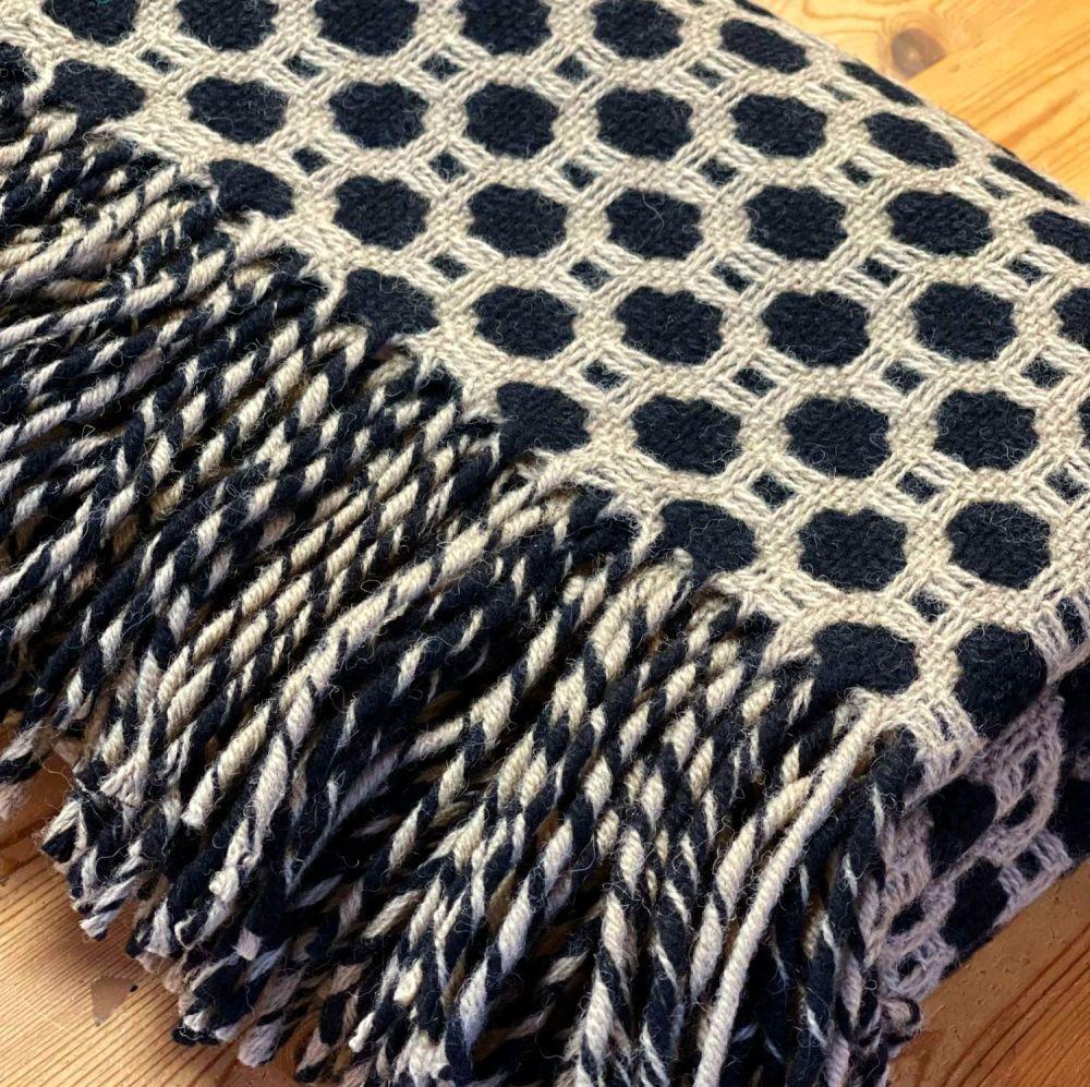 Tweedmill Crossroads Vintage Pure New Wool Throw Blanket