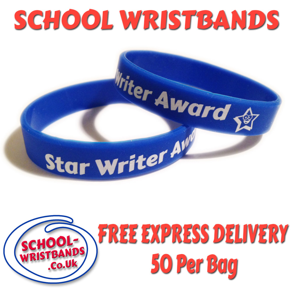 star-writer-school-wristbands-www.promo-bands.co.uk