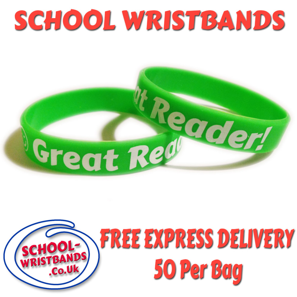 great-reader--school-wristbands-www.promo-bands.co.uk 1