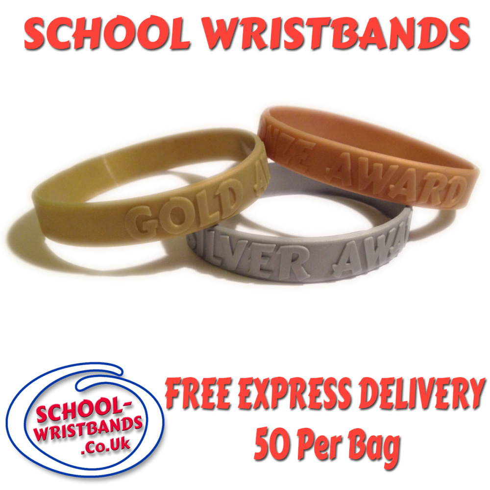 school sports day award wristbands