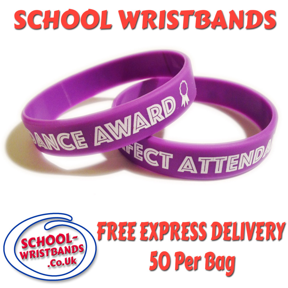 perfect attendance award wristband