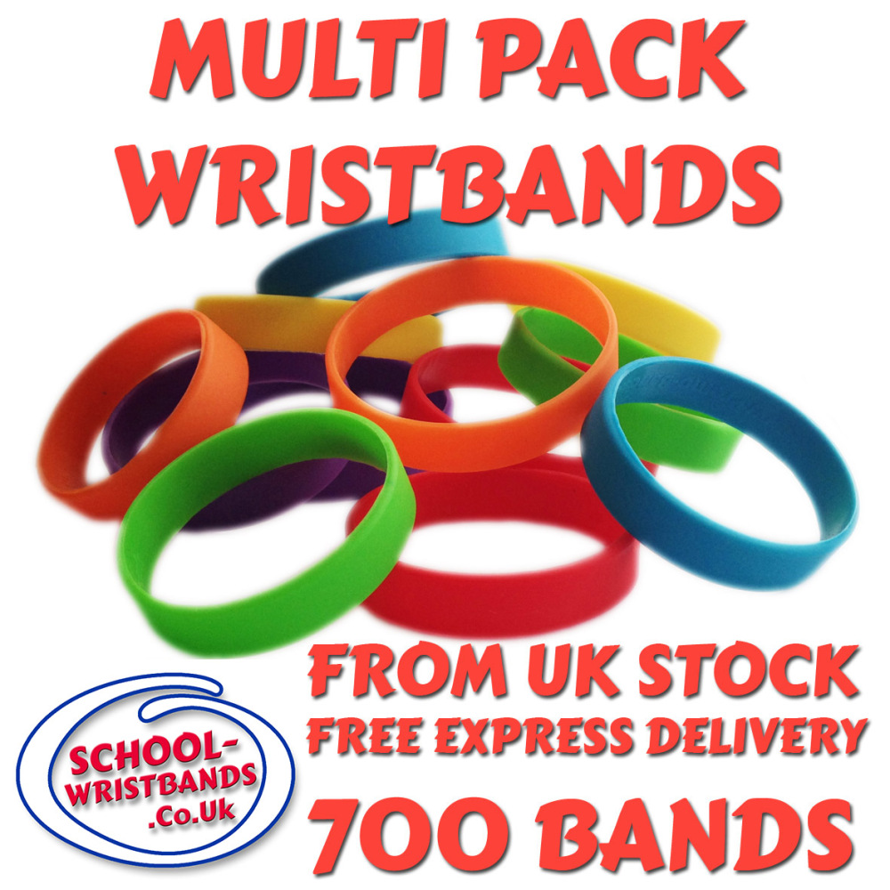 MULTI-PACK DINNER BANDS X 700 pcs. Includes express delivery & VAT.