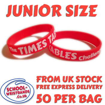 TIMES TABLES CHALLENGE - JUNIOR SIZE - Includes express delivery!