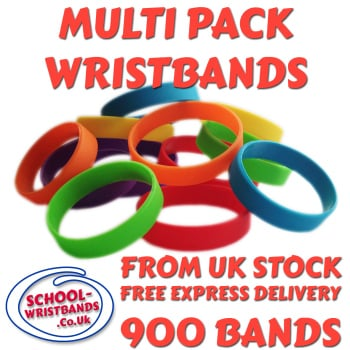 MULTI-PACK DINNER BANDS X 900 pcs. Includes express delivery.
